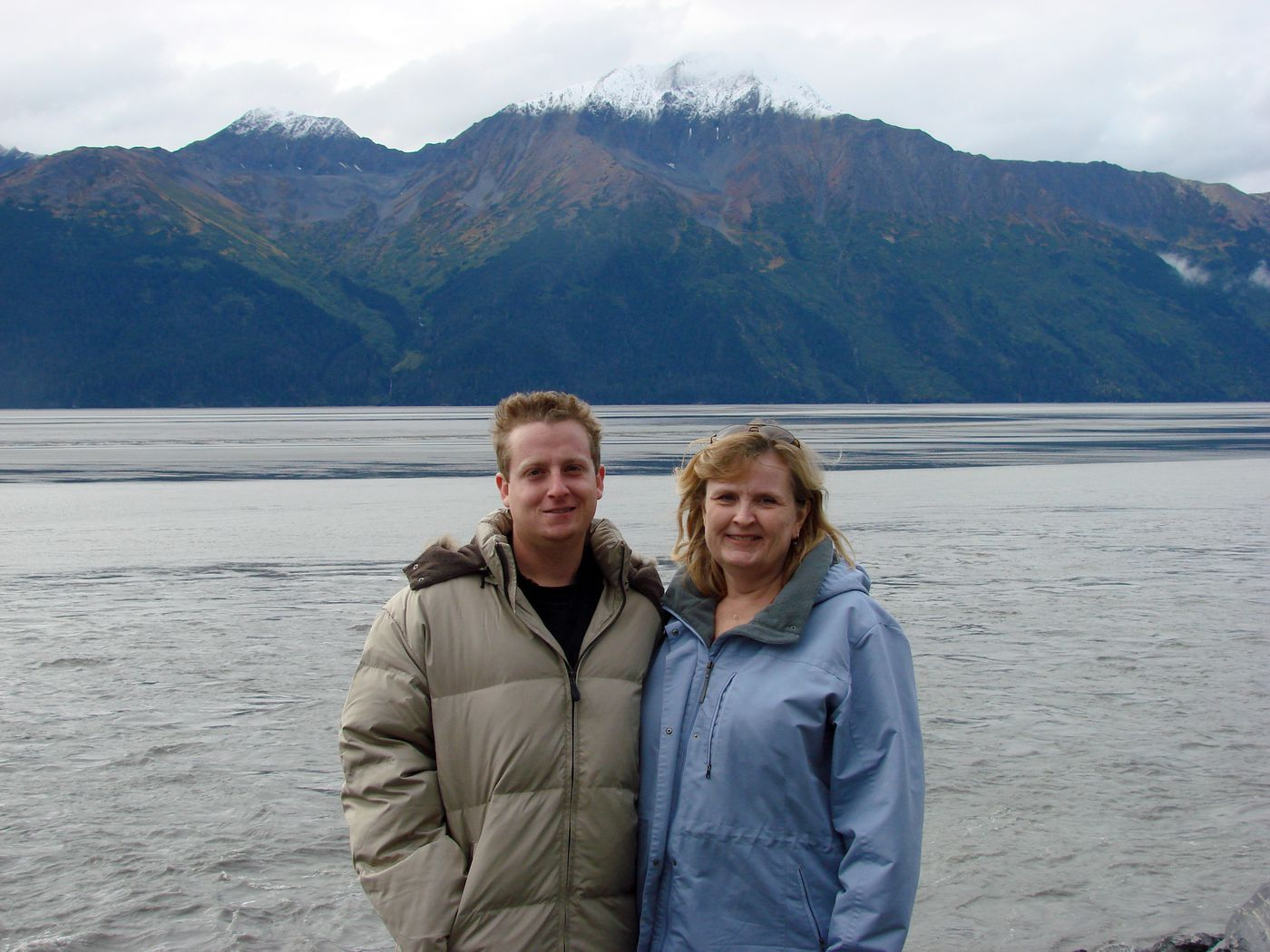 Kelly Stephens and his mother, Virginia, on an Alaska trip in 2007. (Photo courtesy of Virginia Stephens)