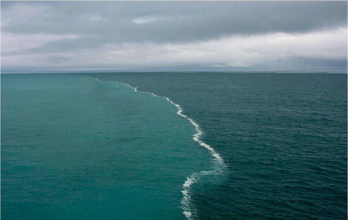 pace where the atlantic and pacific meet
