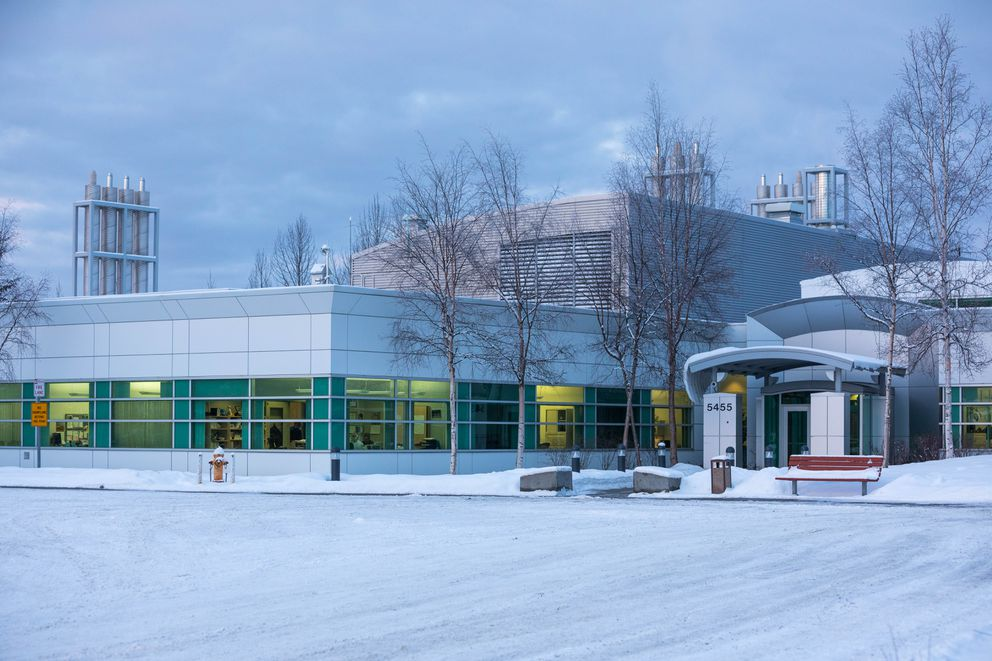 The Alaska State Public Health Laboratories, photographed Thursday, Feb. 7, 2019. (Loren Holmes / ADN)