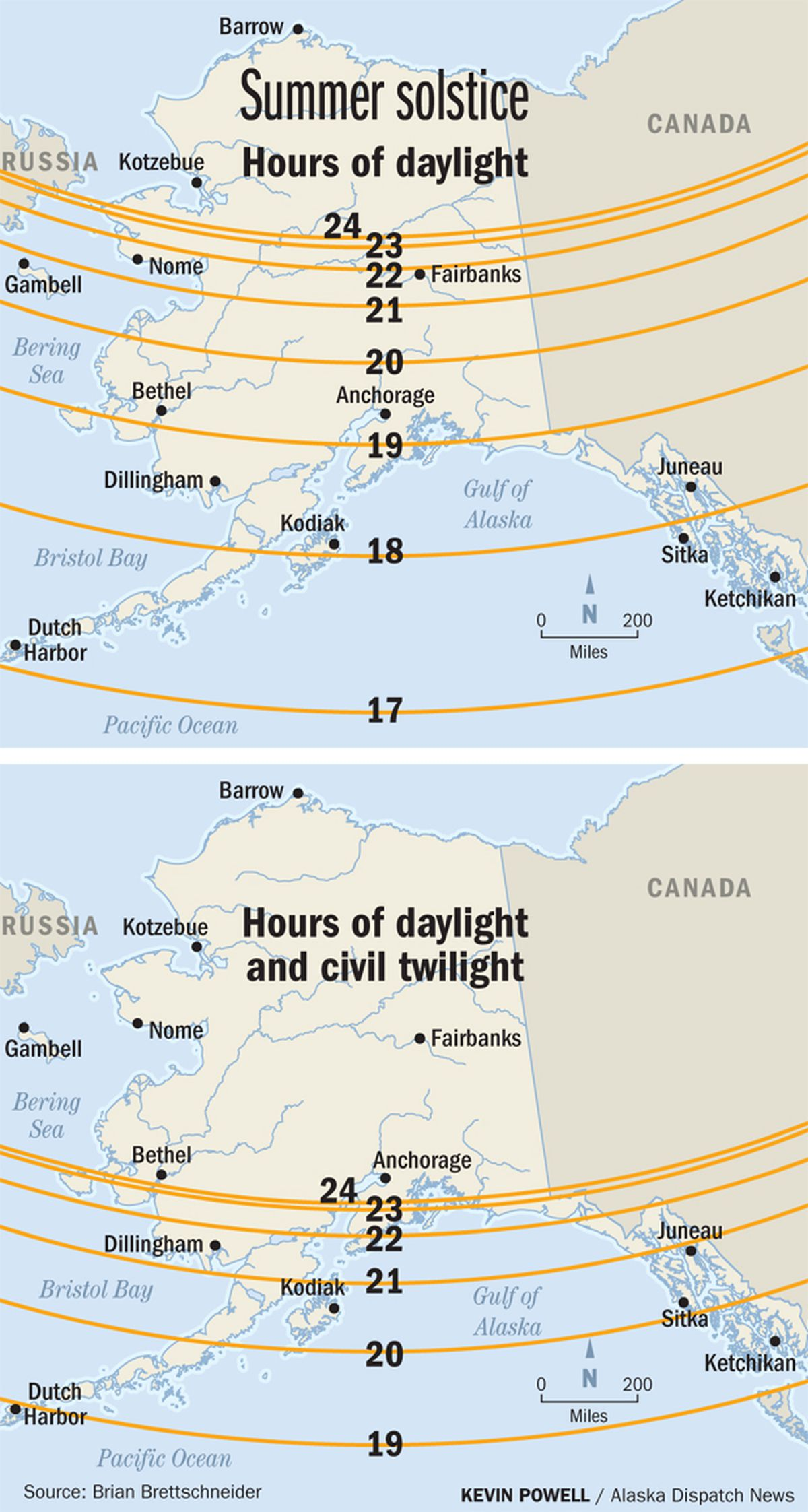 As Solstice Approaches A Look At Why Alaska Has The Most Daylight