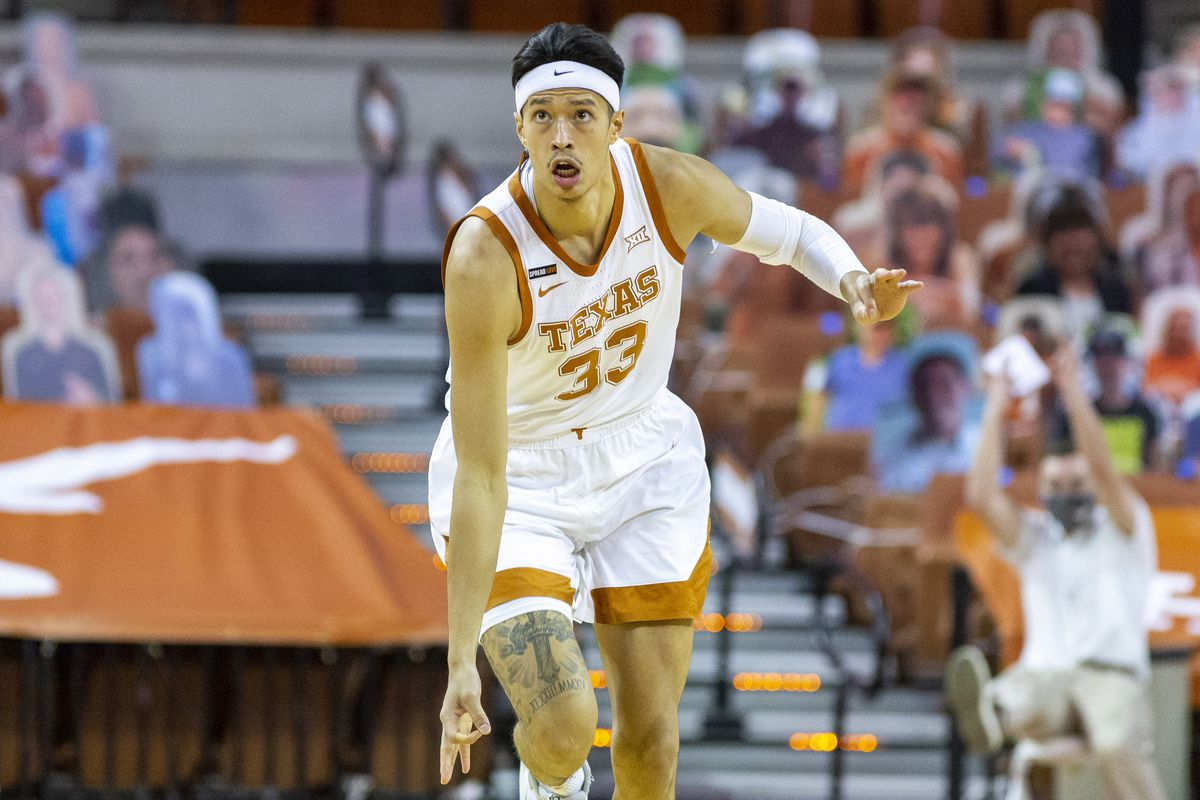 Kamaka Hepa makes the most of his first start this season for Texas with a career-best 15 points in a win over Kansas State last Saturday. (Stephen Spillman / Courtesy University of Texas Athletics)
