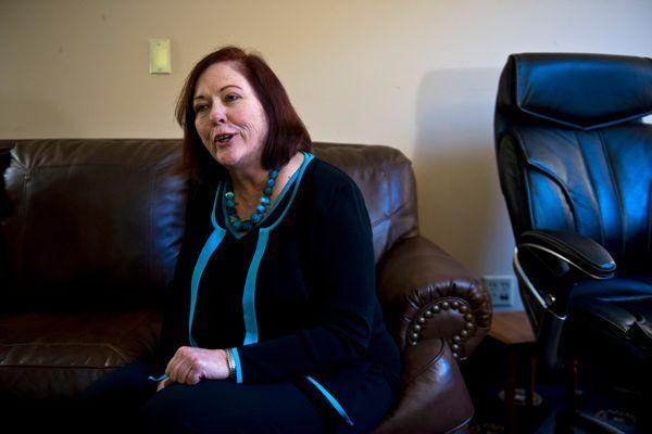 Sen. Berta Gardner, D-Anchorage, photographed on January 19, 2017. (Marc Lester / Alaska Dispatch News)