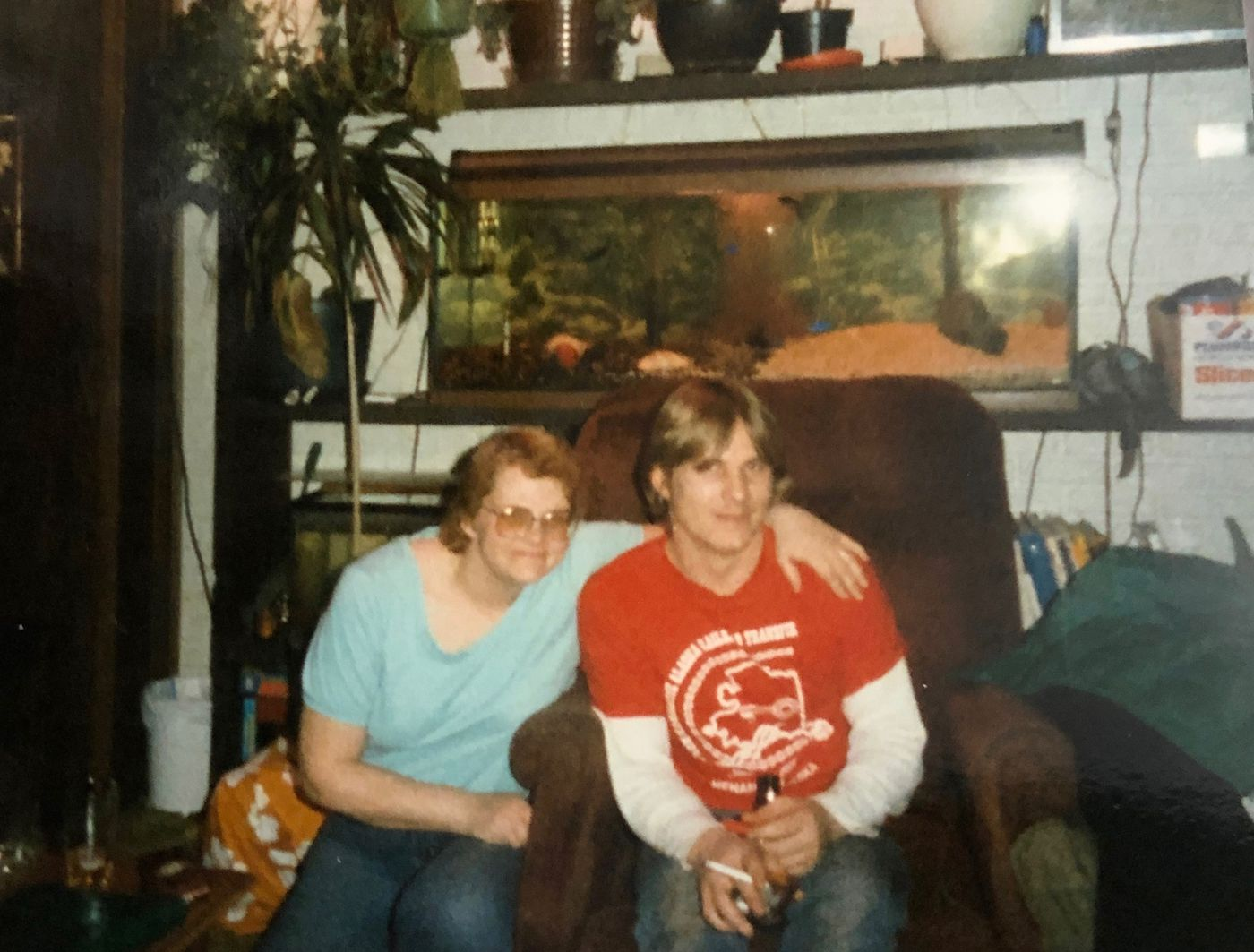 Beth Blake and Dennis Mouser in the mid-1980s. (Photo courtesy of Sherri Stewart)