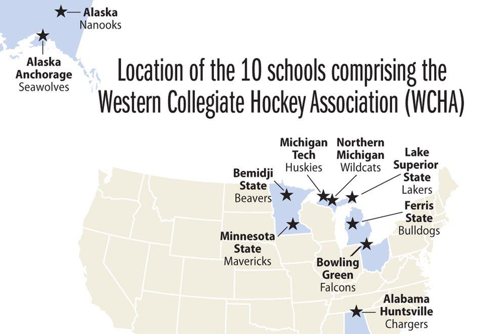 7 of WCHA\'s 10 hockey teams want to leave UAA, UAF behind ...
