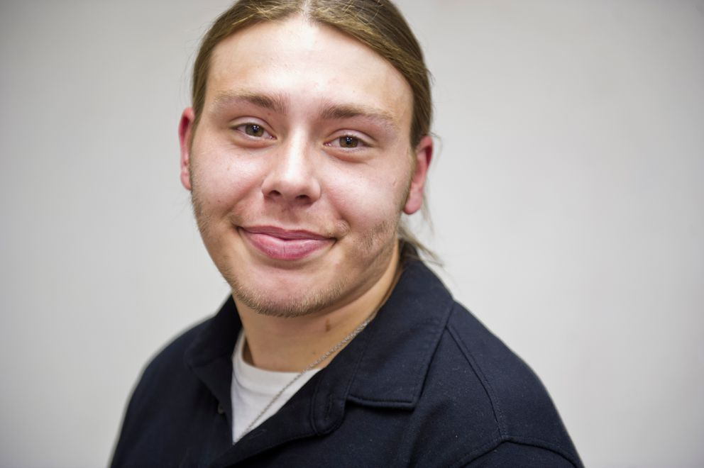 "Bill Noblett has been coming to the Center for Drug Problems for methadone since March. Noblett, 24, said he has struggled with opioids for a decade. ""I decided I needed to make a change in my life, and a change for the better."" Photographed on Tuesday, August 23, 2016. (Marc Lester / Alaska Dispatch News)"