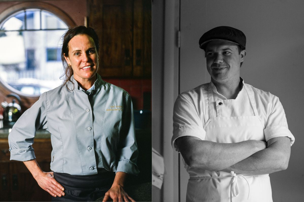 "Denali Park's Laura Cole of 229 Parks was nominated for ""best chef: northwest"" and Carlyle Watt of Anchorage's Fire Island Rustic Bakeshop received a nomination for ""outstanding baker"" for the James Beard Awards. (Photos by Ash Adams)"