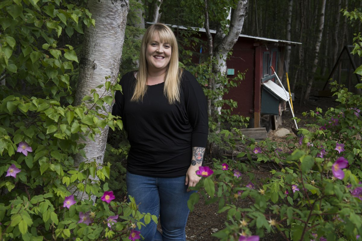 Sarah Lorimer, who has multiple sclerosis, recently sold her Alaska Fighting Championship company to prioritize taking care of her health. (Marc Lester / ADN)