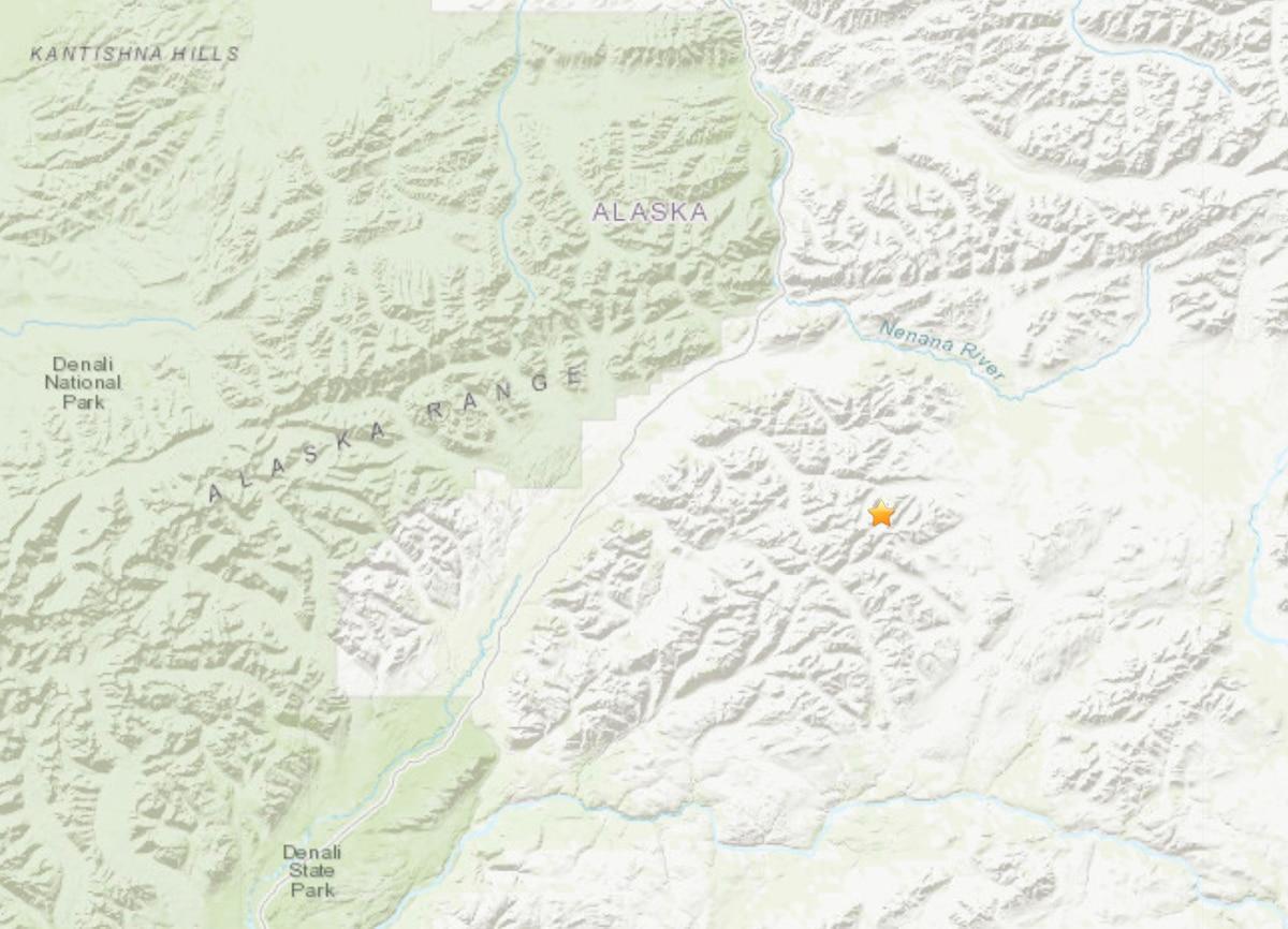 (Alaska Earthquake Center)