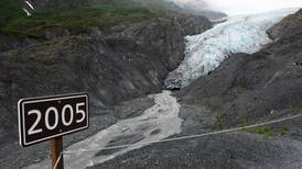 Retreating Exit Glacier has become an icon of climate change