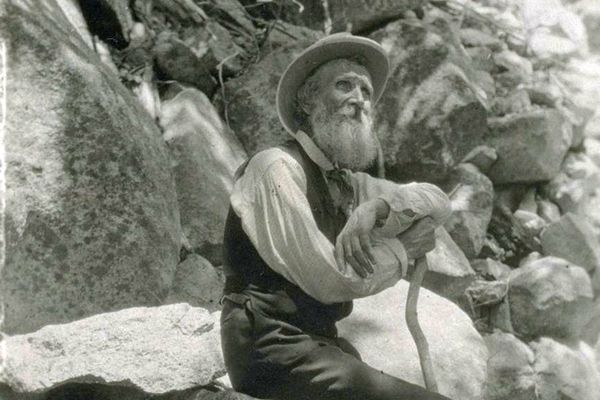 John Muir in 1906. Photo by Francis M. Fritz (Creative Commons)