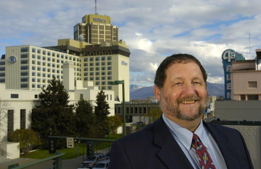 Anchorage attorney Jim Gottstein (Bill Roth / Alaska Dispatch News)