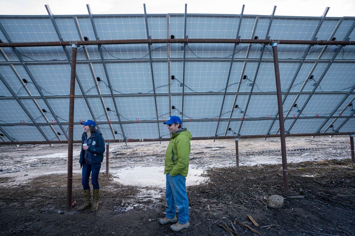 Alaska's largest solar farm opens in Willow