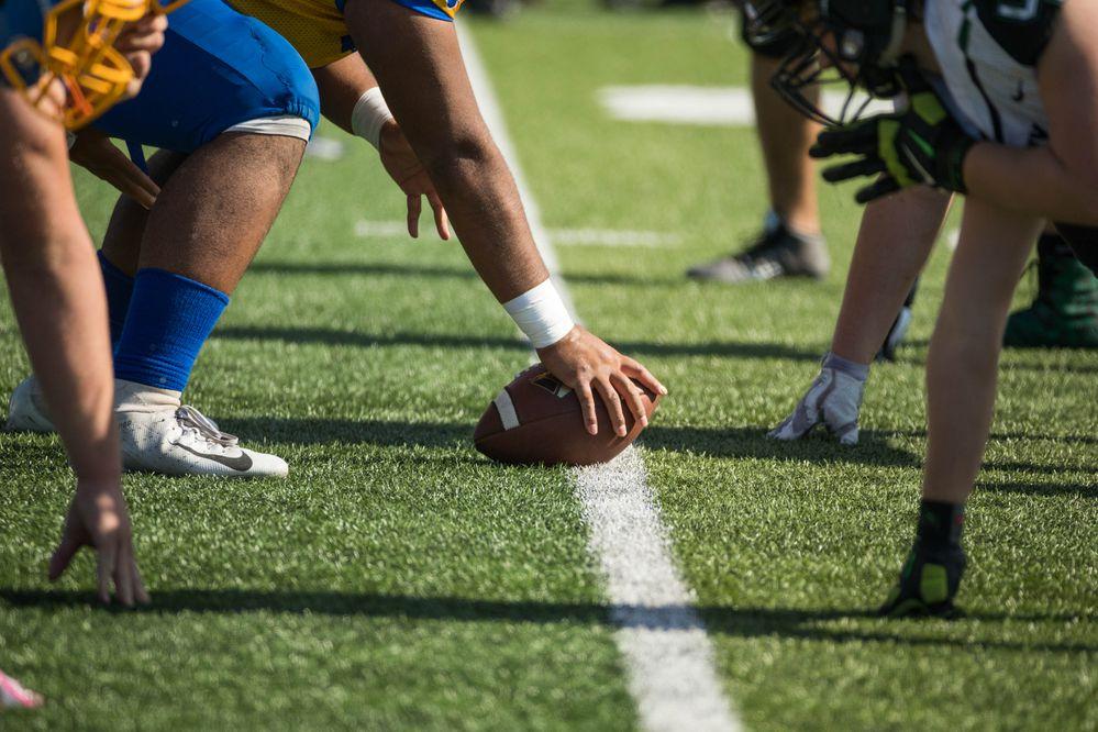 Football. Colony at Bartlett, Sept. 1, 2018. (Loren Holmes / ADN)