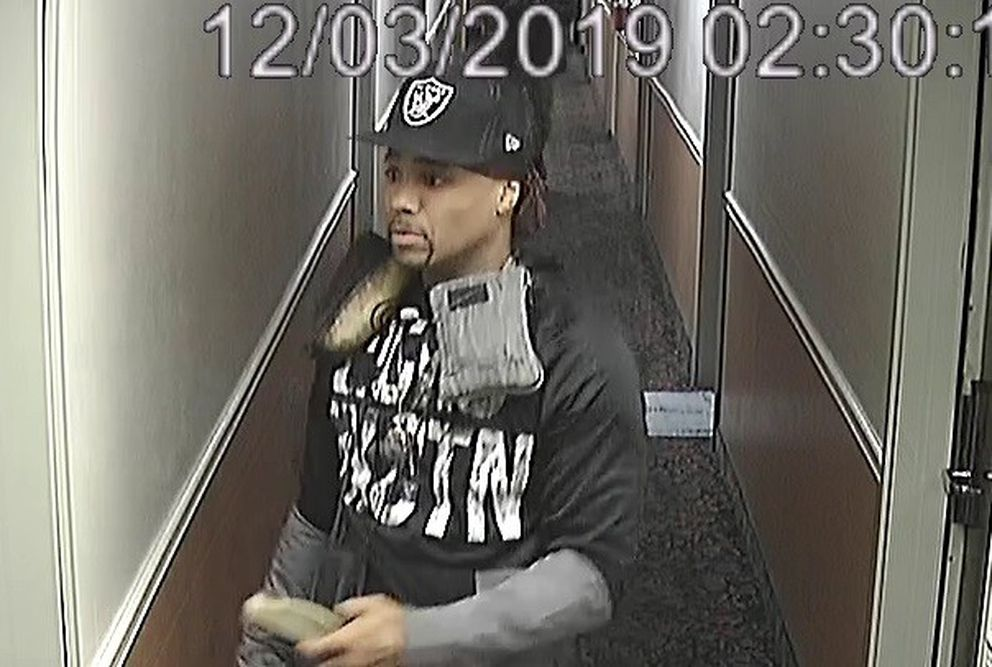 Anchorage police are searching for a man who they believe may have information about a fatal shooting Dec. 3, 2019, at the Black Angus Inn. Photo courtesy of Anchorage Police Department.