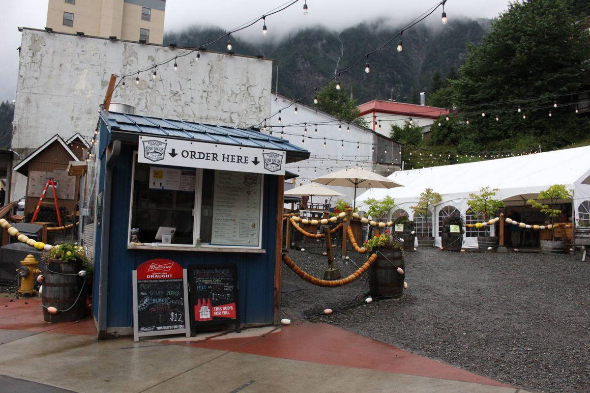 The Franklin Food Court in downtown Juneau. (Photo by Elizabeth Jenkins/KTOO)