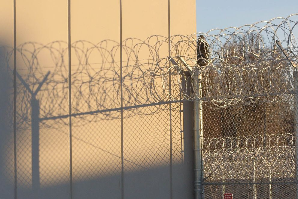 Goose Creek Correctional Center, Friday, Dec. 9, 2016. (Loren Holmes / Alaska Dispatch News)
