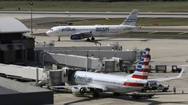 US sues to stop partnership deal between American Airlines and JetBlue