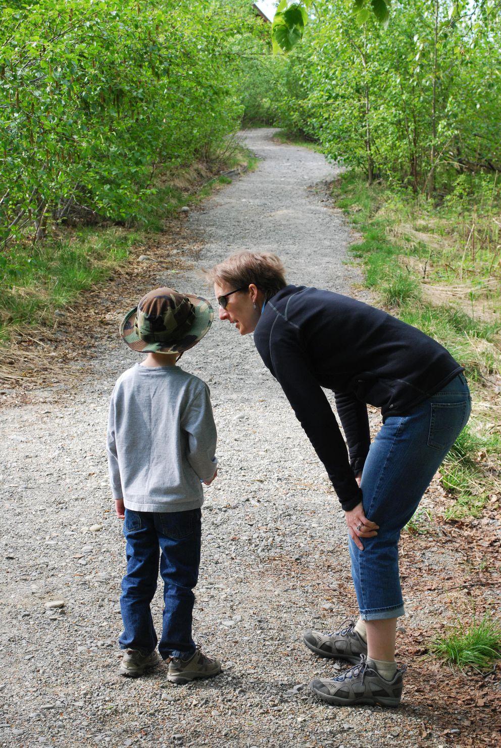 Teaching kids about bear habitat is the first step toward appropriate bear-aware strategies. (Erin Kirkland)