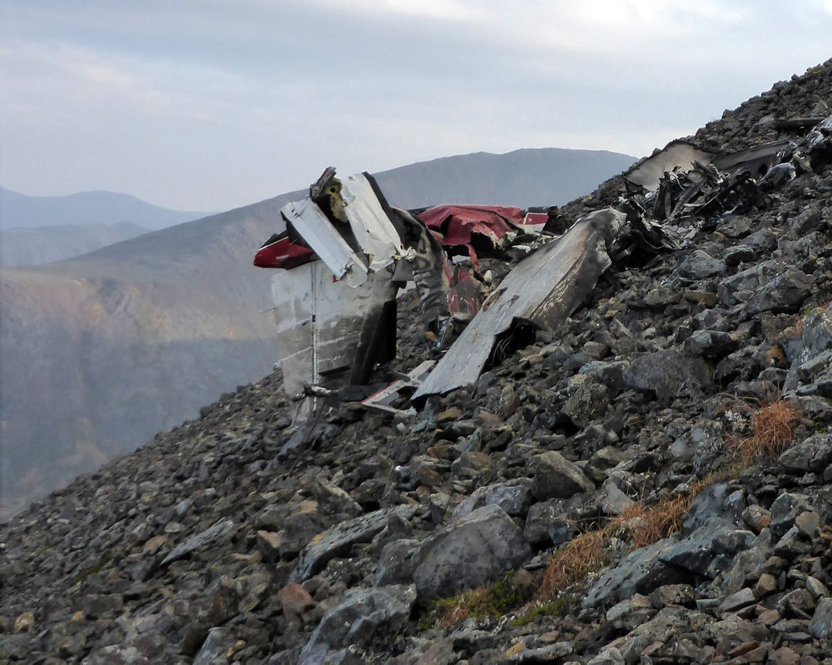 Mountainside Plane Crash Site Near Togiak Is A Challenge For - Mountainous aircraft accidents map us