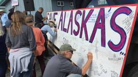 More than 100 in Homer protest budget vetoes