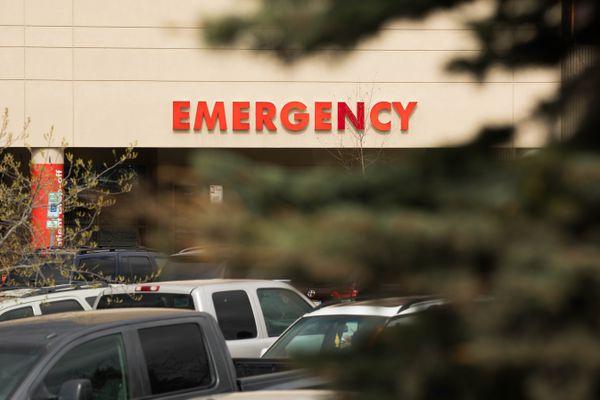 The Alaska Regional Hospital emergency department, photographed Friday, May 11, 2018. (Loren Holmes / ADN)