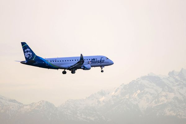 Alaska Airlines will start flying the E-175 in Alaska in October 2020. (Photo provided by Alaska Airlines)