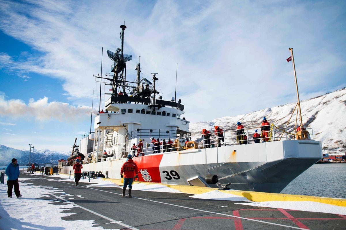 coast guard removes kodiak members from duty in drug investigation