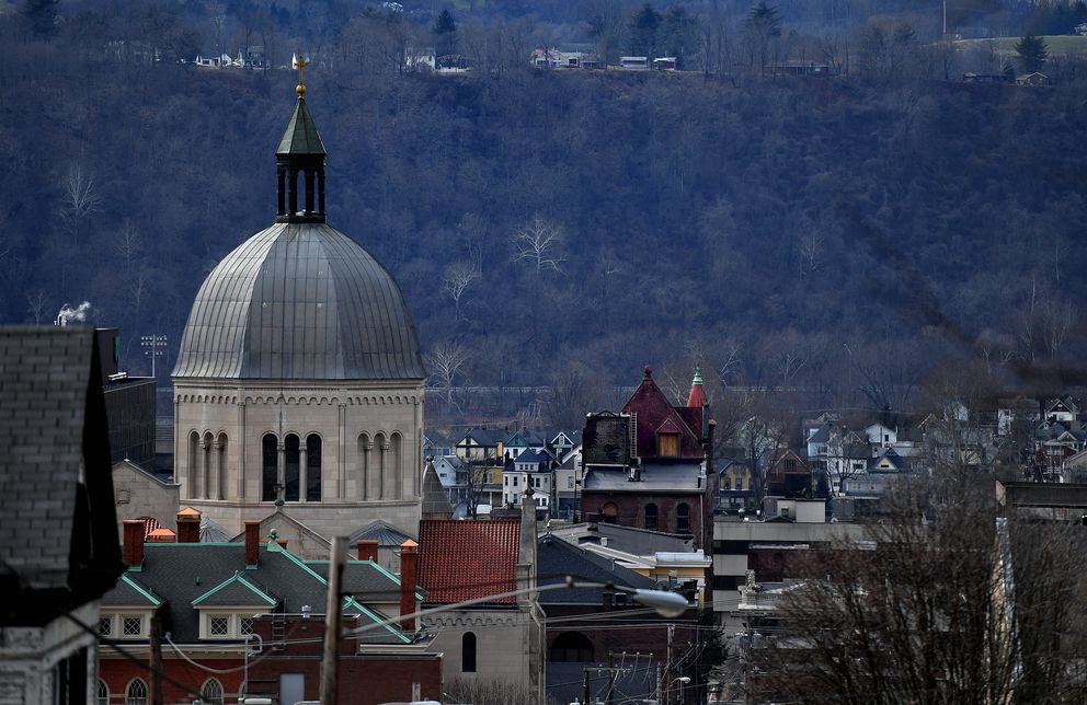 The Diocese of Wheeling-Charleston seen in Wheeling, W.Va. (Washington Post photo by Michael S. Williamson)