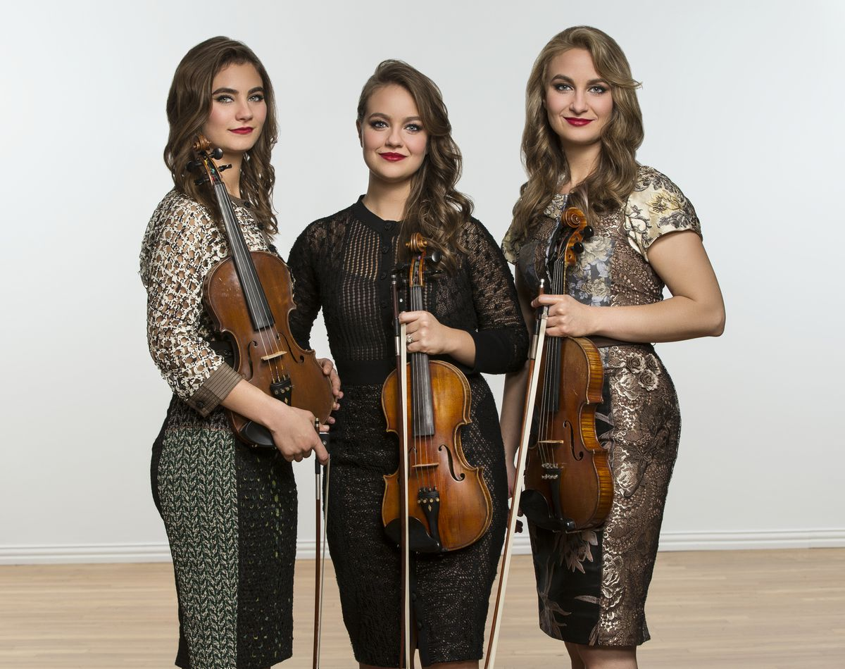 The Quebe Sisters will perform in Anchorage this Saturday.