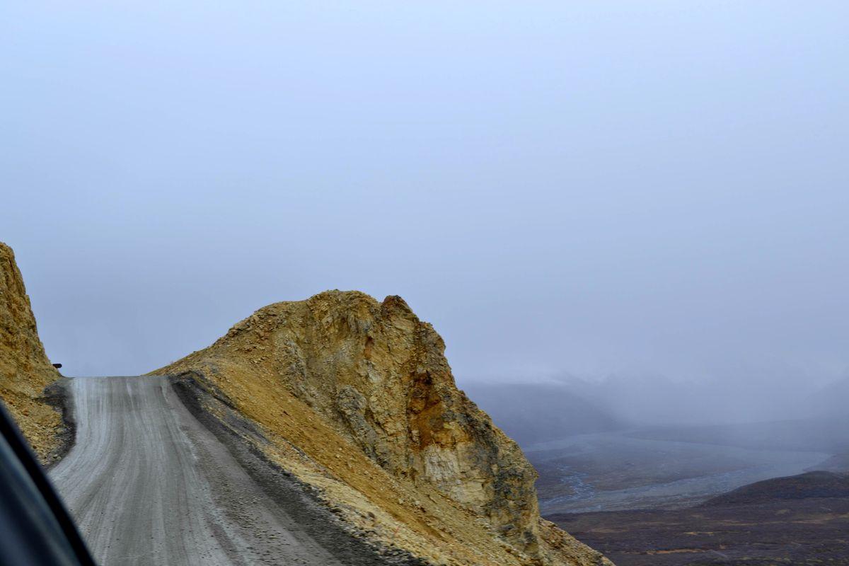 Polychrome Pass, Denali National Park. (Photo by Victoria Petersen)