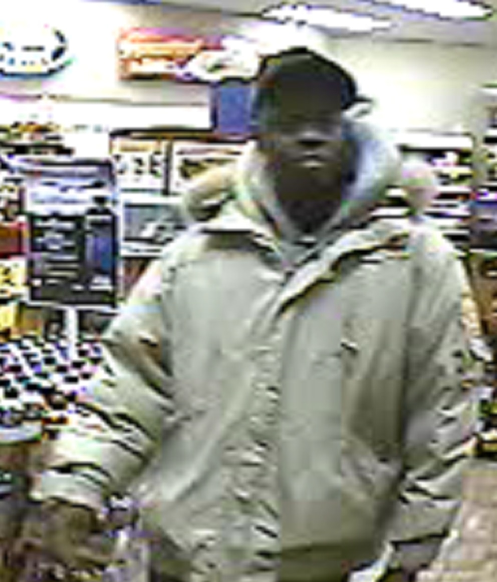 Anchorage police are seeking this man in connection with a fatal shooting Sunday night. (Courtesy APD)