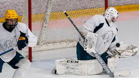 Anchorage Wolverines hockey team debuts with narrow loss