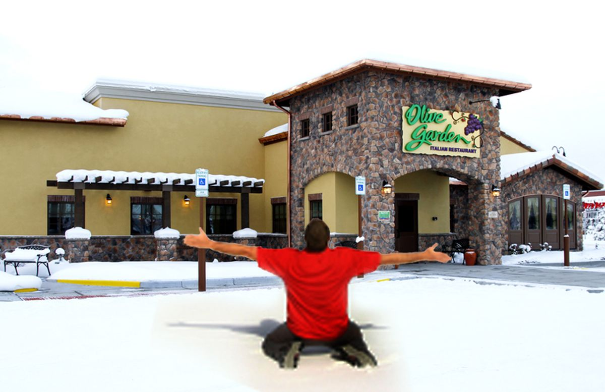 Olive Garden Opens Its Doors In Alaska Expect Company Records To Fall Anchorage Daily News