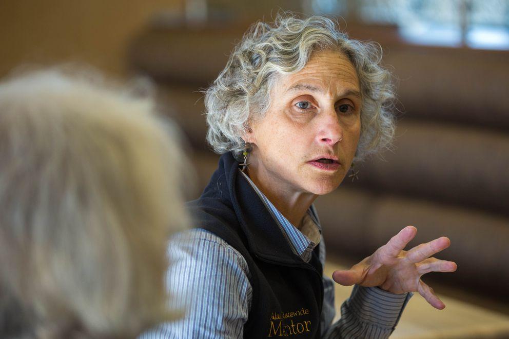 Mentor Elizabeth Will. (Loren Holmes / Alaska Dispatch News)