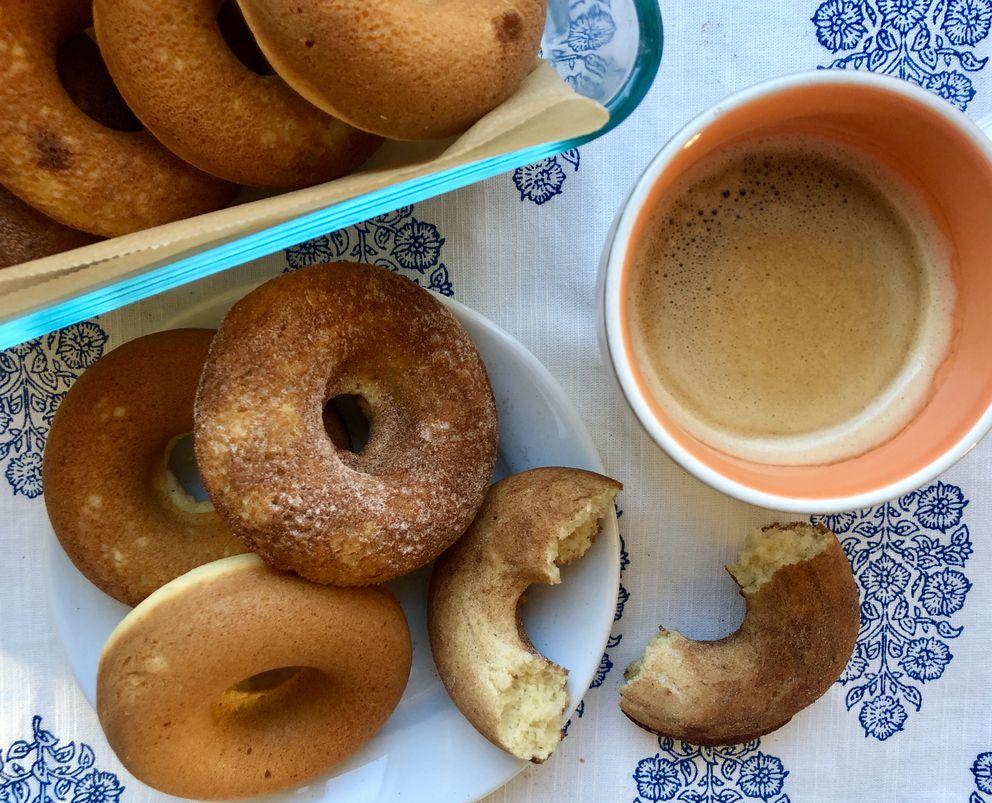 Gluten-free baked 'Idita-doughnuts ' (Julia O'Malley / ADN)