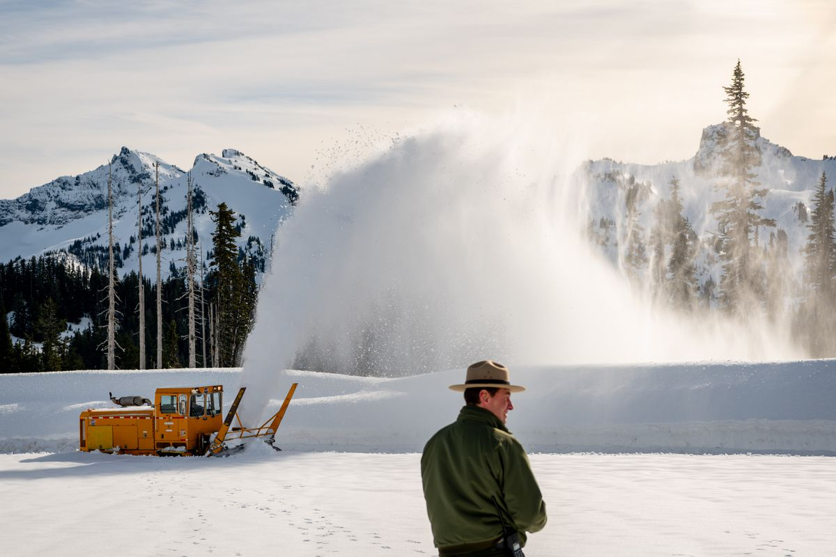 Mount Rainier digs out from under shutdown, hoping damage ...