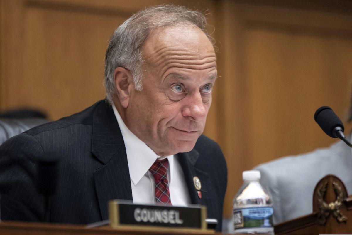 Rep. Steve King, R-Iowa, at a hearing on Capitol Hill in Washington, June 2018. (AP Photo/J. Scott Applewhite, File)
