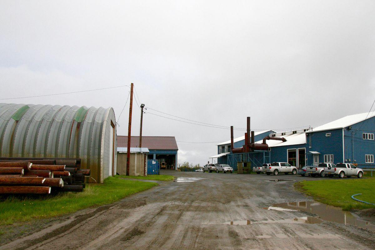 Alaska Village Electric Coopertive runs the power plant in Bethel, Alaska, as seen on Thursday, Aug. 25, 2016. (Lisa Demer / ADN)