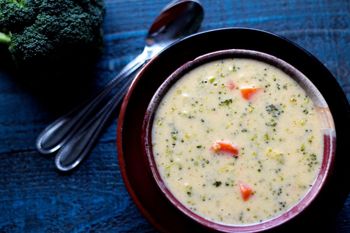 Broccoli cheddar soup (Maya Wilson / Alaska from Scratch)