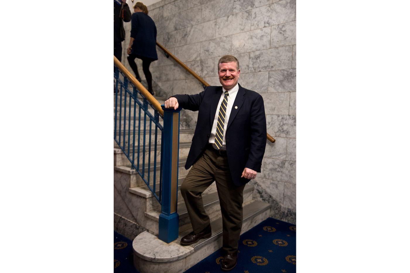 Rep. Chuck Kopp, R-Anchorage. (Marc Lester / Alaska Dispatch News)