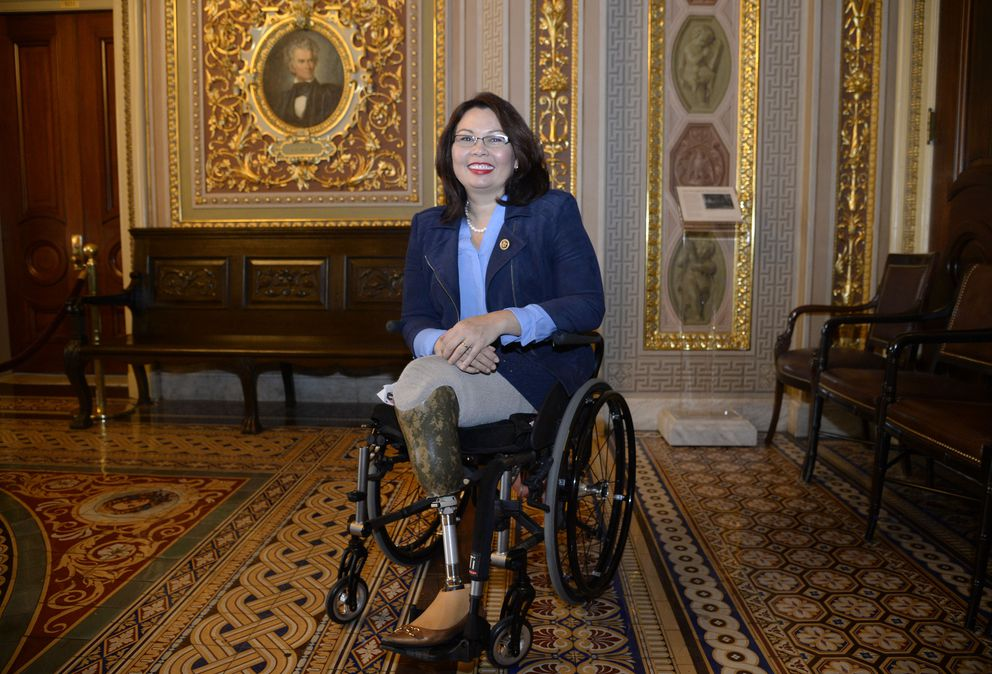 Sen. Tammy Duckworth (D-Ill.) at the U.S. Capitol in Washington, D.C., on November 15, 2016. (Olivier Douliery/Abaca Press/TNS)
