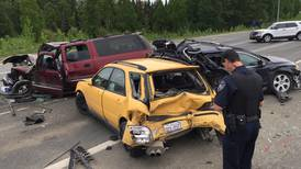 Charges: Suspect in Anchorage collisions involving 8 vehicles was driving drunk