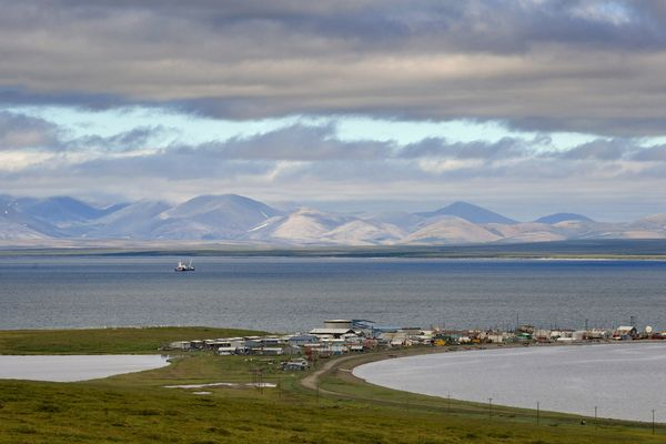 OPINION: A little of the ice curtain across the Bering Straits has melted again, and that's an opportunity to improve overall U.S.-Russian relations. Pictured: A view of Teller, on the Bering Strait between Russia and Alaska.