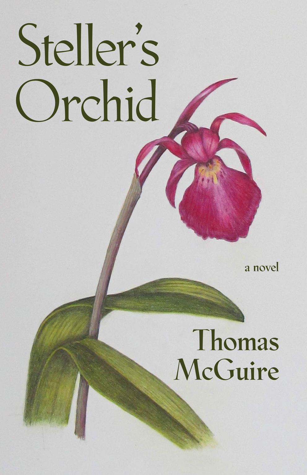 'Steller's Orchid, ' by Thomas McGuire
