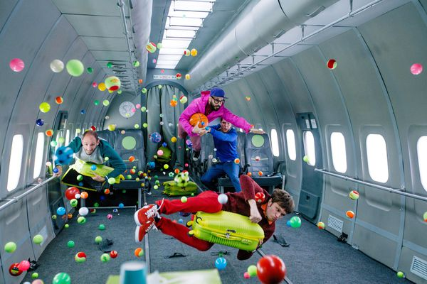 The members of OK Go (Nikolay Ivanov, Tutkovbudkov Creative Agency)