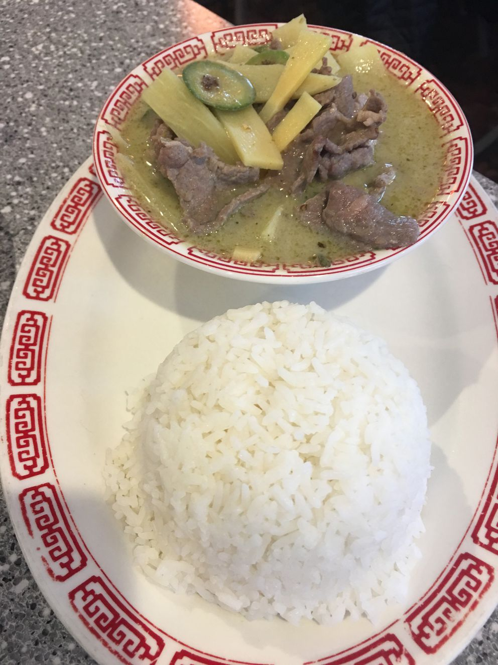 Pho Lena's $9.95 lunch special includes a choice of one of 13 entrees, plus a cup of soup and choice of an egg roll, fresh roll or salad. (Photo by Mara Severin)