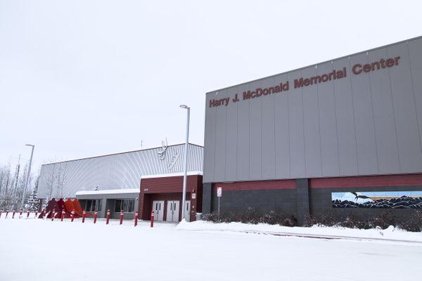 The Harry J. McDonald Memorial Center received an audit the same time as the facility saw a decline in use and the Anchorage Assembly will be looking at whether to renew the contract with the nonprofit that runs the center. (Rugile Kaladyte / Alaska Dispatch News)