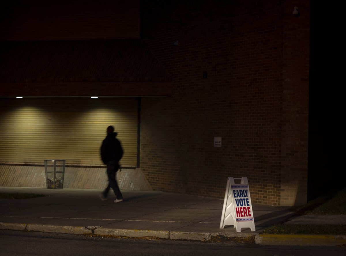Black activists and historians are outraged over President Trump's allegations of voter fraud in Milwaukee County, Wis. Many see it as an attempt to disenfranchise Black voters - a demographic that Trump tried to court - as the president tries to overturn the election results. President-elect Joe Biden won Wisconsin by an estimated 20,500 votes and received about 69 percent of the vote in Milwaukee County. Photo by Darren Hauck for The Washington Post