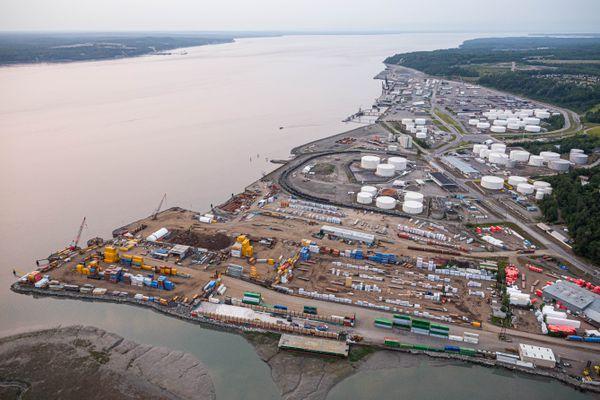 The Port of Alaska, photographed on July 19, 2012. (Loren Holmes / ADN)