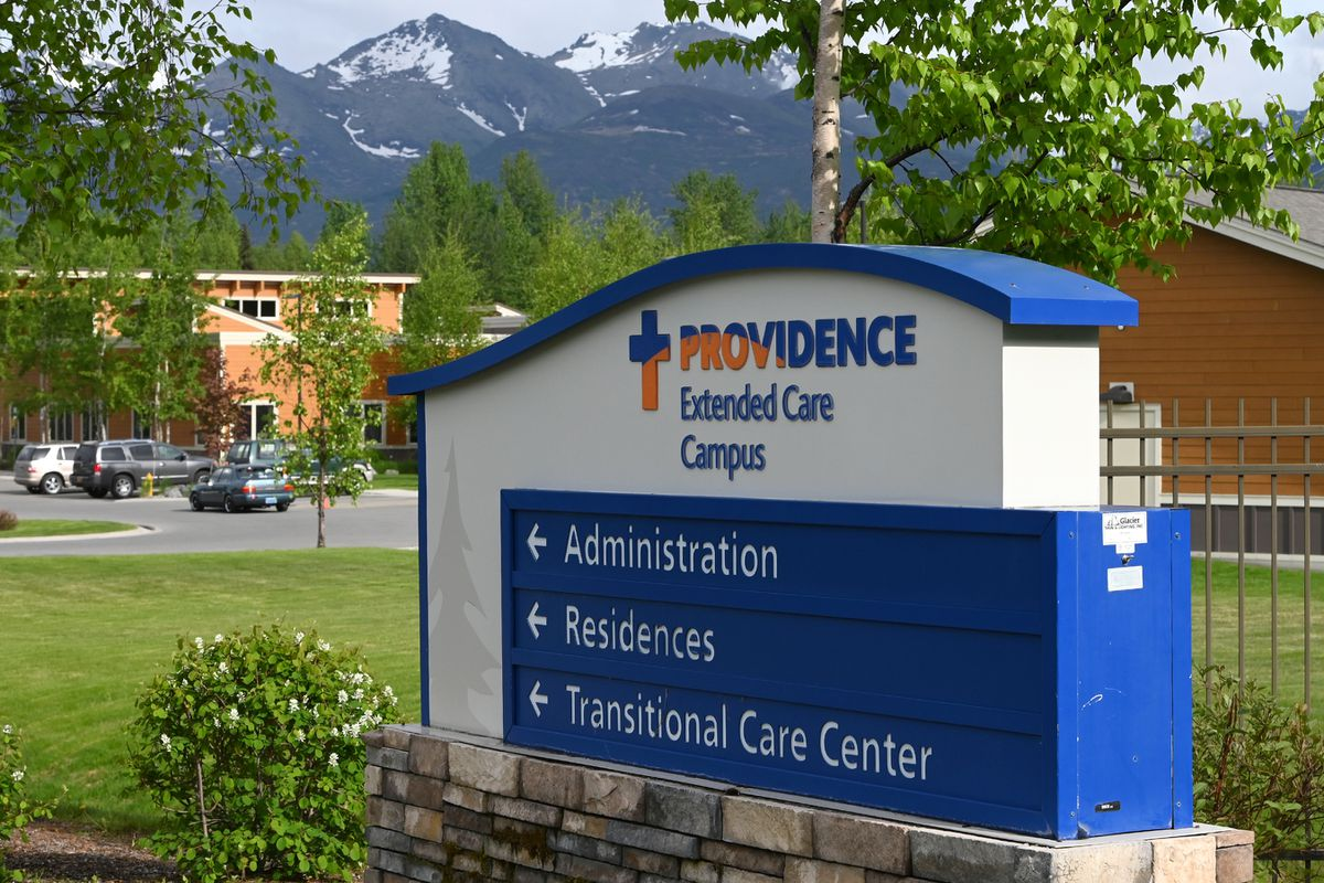 Providence Transitional Care Center in Anchorage on Sunday, May 31, 2020. (Bill Roth / ADN)